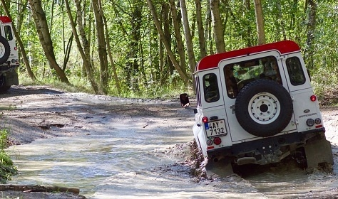 Land Rover - Offroad jízda